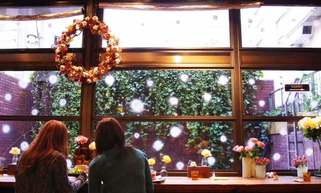 12月のカフェ